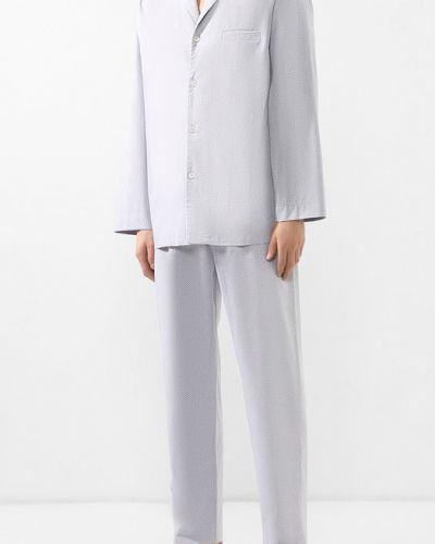 Пижама шелковая хлопковая Zimmerli
