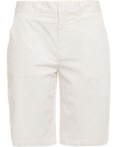Хлопковые бежевые шорты с карманами Nili Lotan