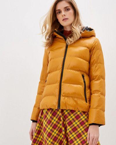 Теплая желтая утепленная куртка Macleria
