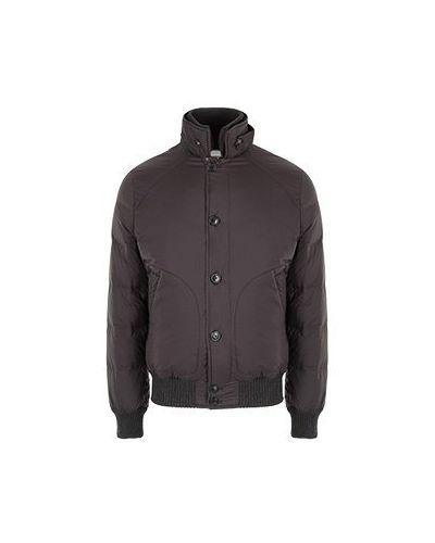 Нейлоновая коричневая куртка Cortigiani
