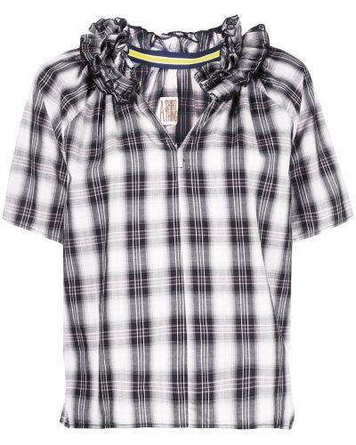 Блузка с коротким рукавом с оборками с воротником A Shirt Thing