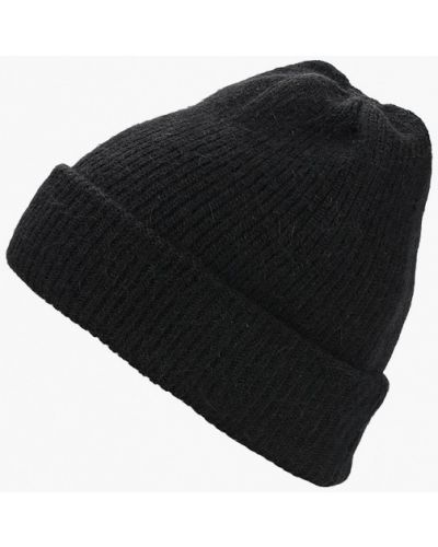 Черная шапка осенняя Kawaii Factory