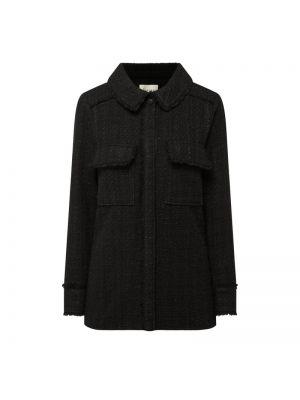 Czarna kurtka bawełniana Levete Room