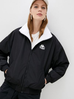 Утепленная куртка - белая Kappa