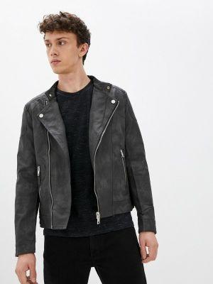 Серая демисезонная куртка Terance Kole
