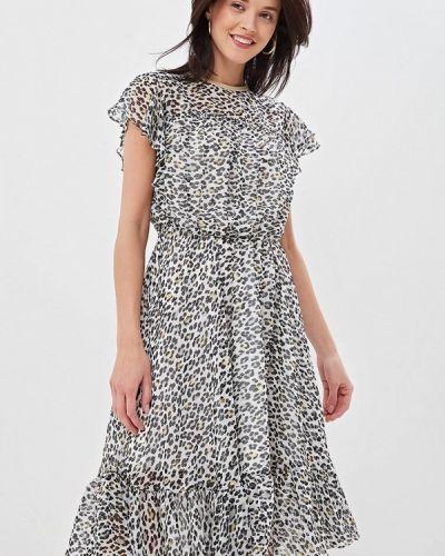 Платье серое турецкий Lusio