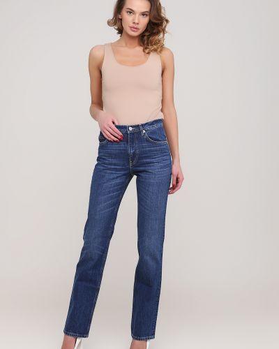 Синие прямые джинсы Kookai