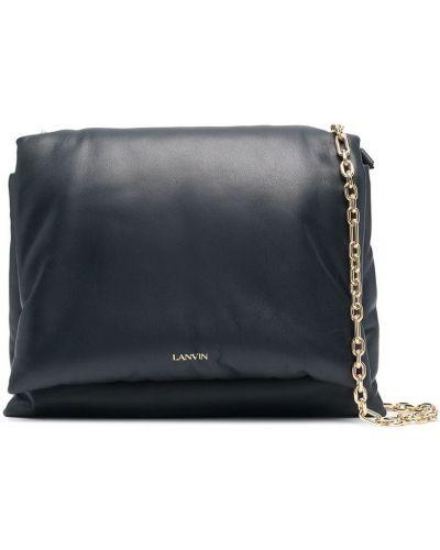 Czarna torebka skórzana Lanvin