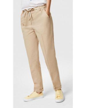 Бежевые брюки O'stin