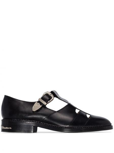 Czarne loafers skorzane Toga Virilis