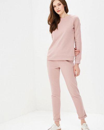 Розовый брючный костюм Fashion.love.story