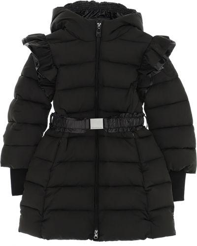 Czarny płaszcz Monnalisa