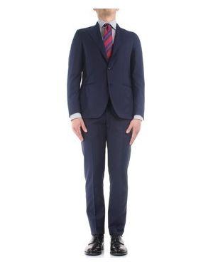 Niebieski garnitur Gabo