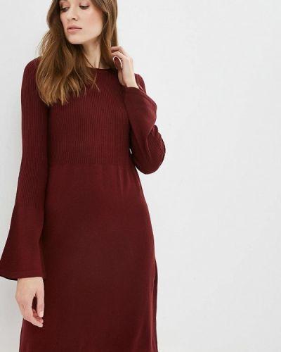 Платье бордовый красный Iwie