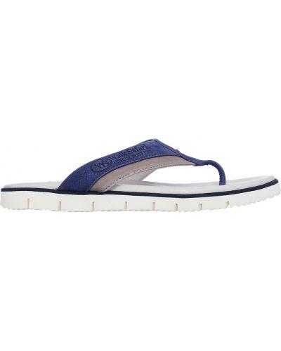 Синие шлепанцы Walk Safari