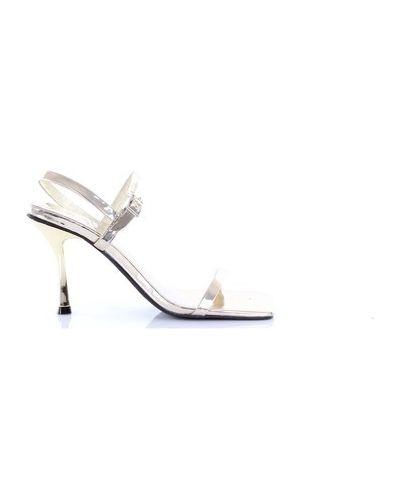 Złote sandały Jeffrey Campbell