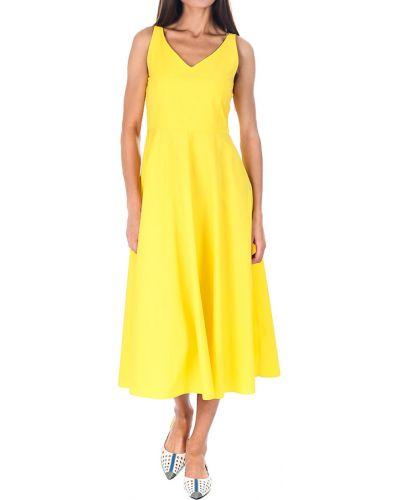 Желтое платье Iblues