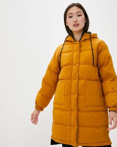 Утепленная желтая куртка Macleria
