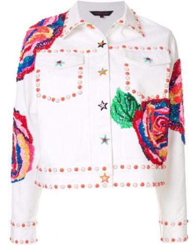 Джинсовая куртка на пуговицах классическая Manish Arora