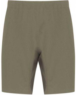 Нейлоновые серые шорты Veilance