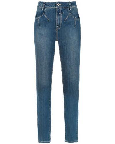 Джинсовые прямые джинсы - синие Mara Mac