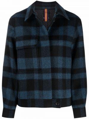 Синяя куртка с принтом Ps Paul Smith