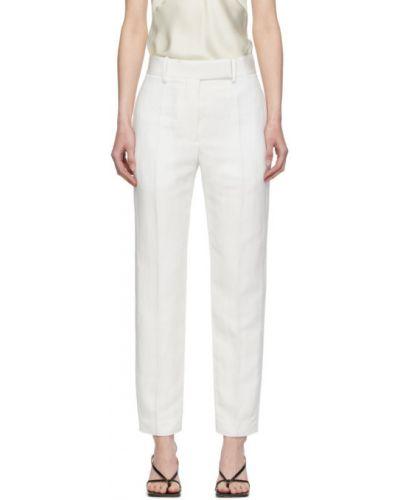Bielizna beżowy spodni klasyczne spodnie z kieszeniami Haider Ackermann