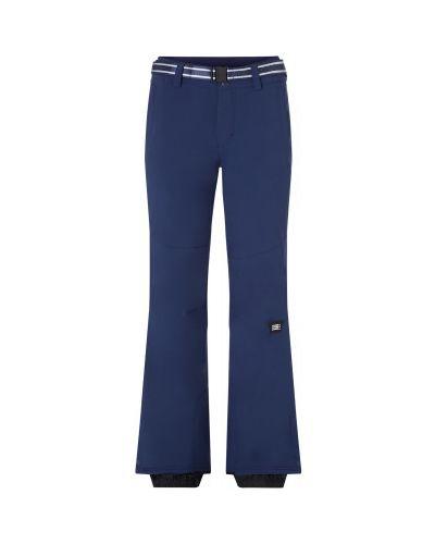 Спортивные брюки из полиэстера - синие O`neill