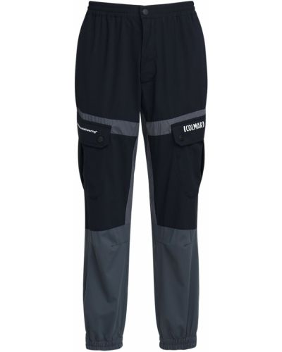 Czarne spodnie Colmar Originals