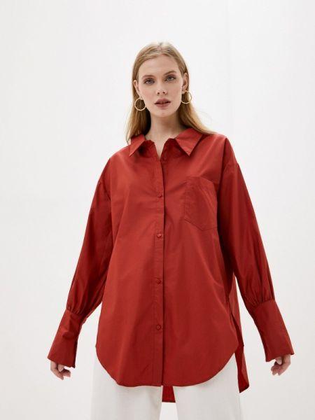 Рубашка с длинным рукавом красный Sweewe