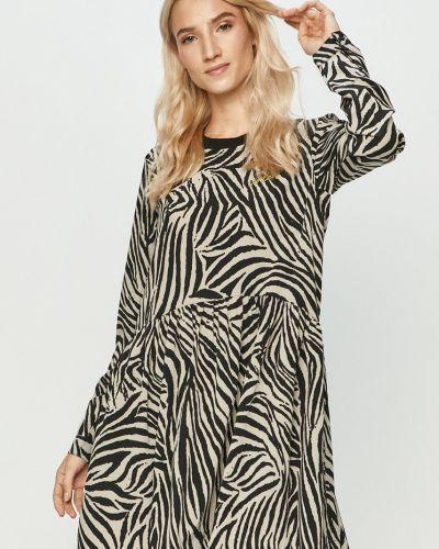 Платье с карманами - черное Volcom