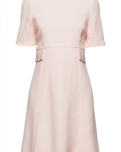 Шерстяное платье мини - розовое Goat