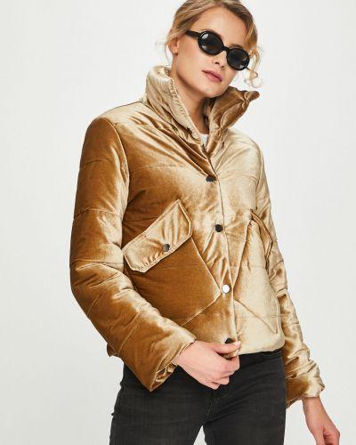 Стеганая куртка с карманами утепленная Answear