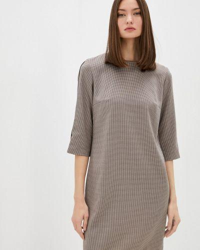 Платье футляр - бежевое Shovsvaro