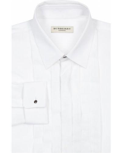Рубашка с длинным рукавом хлопковая из поплина Burberry