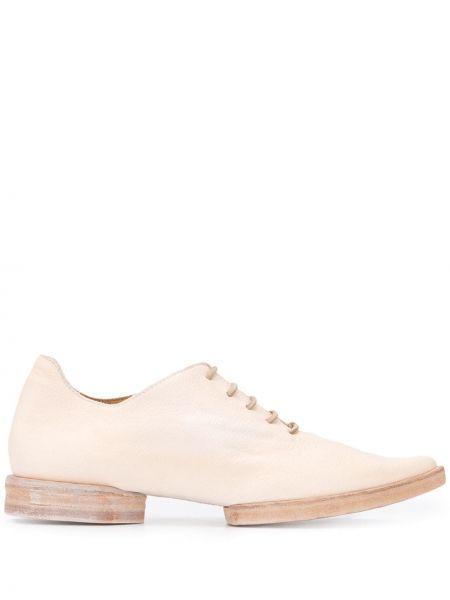 Оксфорды на каблуке на шнуровке Uma Wang