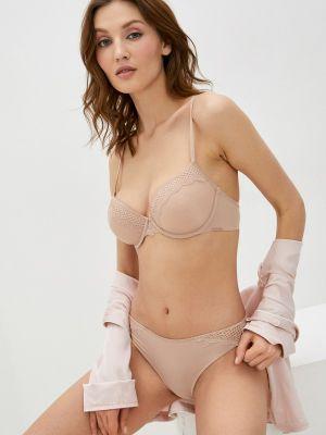 Слипы - бежевые Calvin Klein Underwear