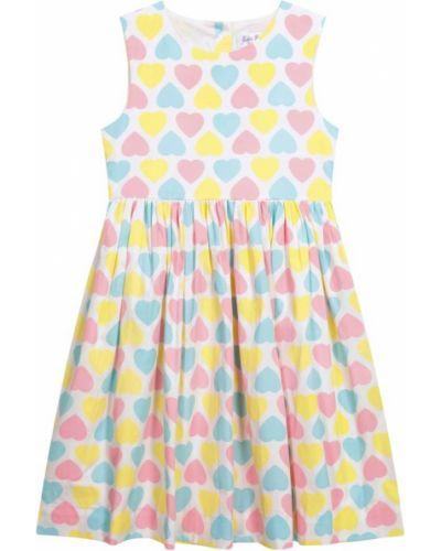 Sukienka bawełniana z printem Rachel Riley