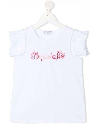 Podkoszulka bez rękawów - biała Givenchy
