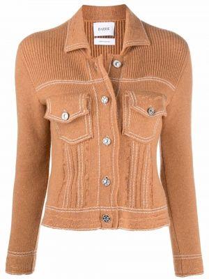 Brązowy z kaszmiru sweter Barrie