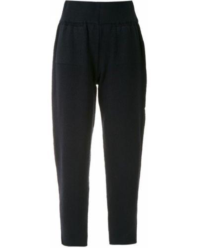 Укороченные брюки зауженные с карманами Mara Mac