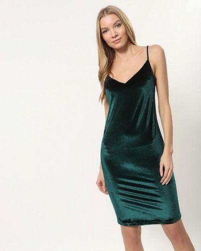 Платье осеннее зеленый Tutto Bene