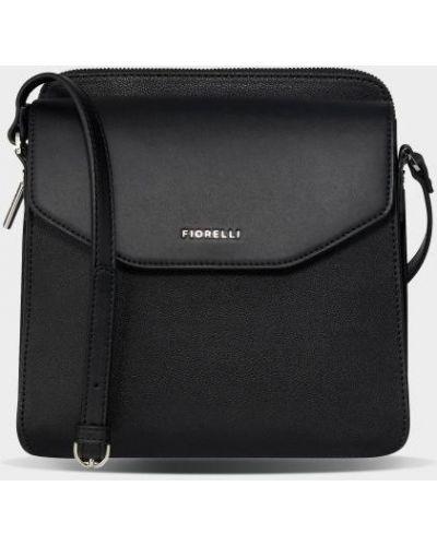 Кожаная сумка - черная Fiorelli