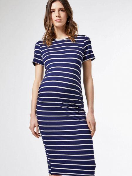 Футбольное синее платье для беременных Dorothy Perkins Maternity