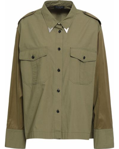 Koszula srebrna - zielona Rag & Bone