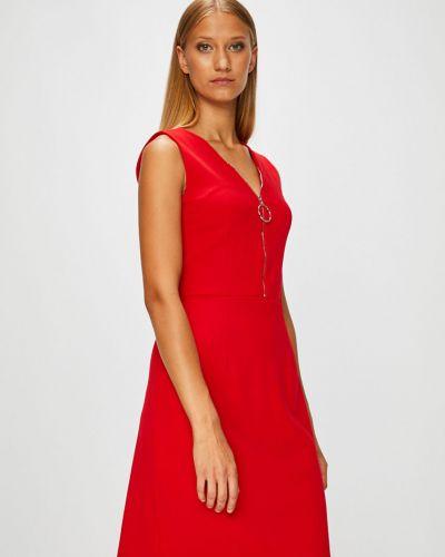 Платье мини с V-образным вырезом Morgan