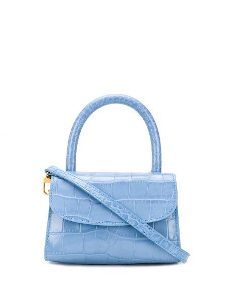 Синяя сумка-тоут By Far