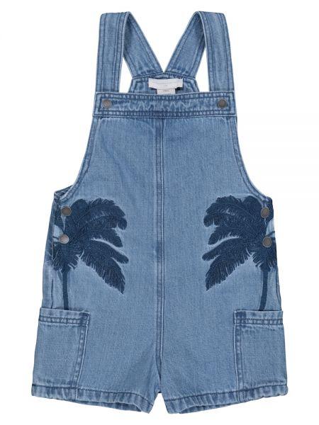 Хлопковые джинсы Stella Mccartney Kids