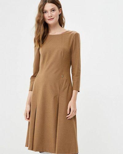 Платье осеннее бежевое Vemina City Lisa Romanyk