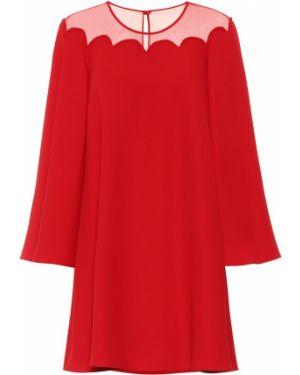 Вечернее платье шелковое Valentino